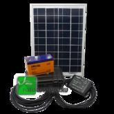 Внешний аккумулятор с солнечной батареей СЗУ-20