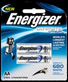 Батарейки Energizer Ultimate Lithium AA x2